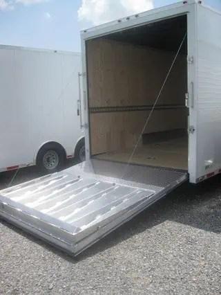 8 5x32 Gooseneck Cargo Trailer Ramp Door Mo Great Dane