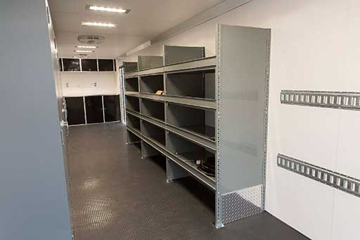 Trailer Options Cabinets Amp Storage MO Great Dane Trailers