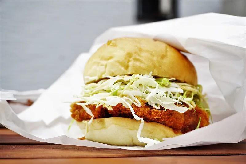 ディアショップのハンバーガー