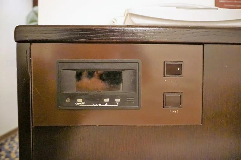 「プレミアホテルキャビン札幌」のベッド