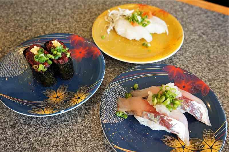 すし遊館の回転寿司