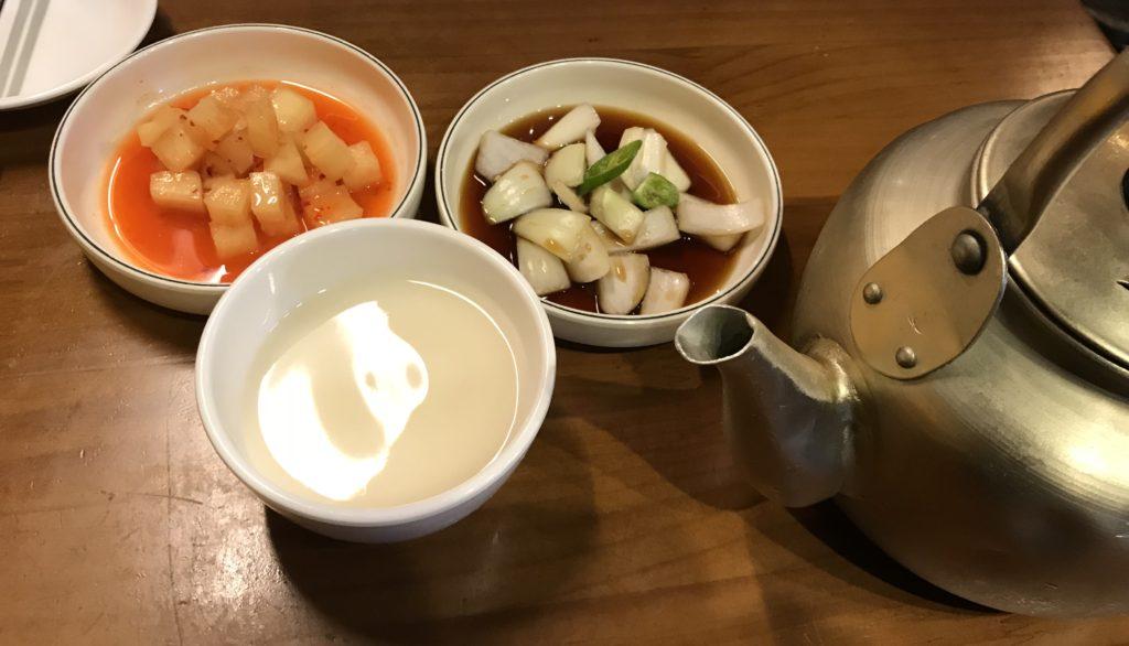 韓国料理-マッコリ