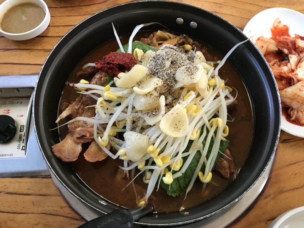 韓国料理-カムジャタン
