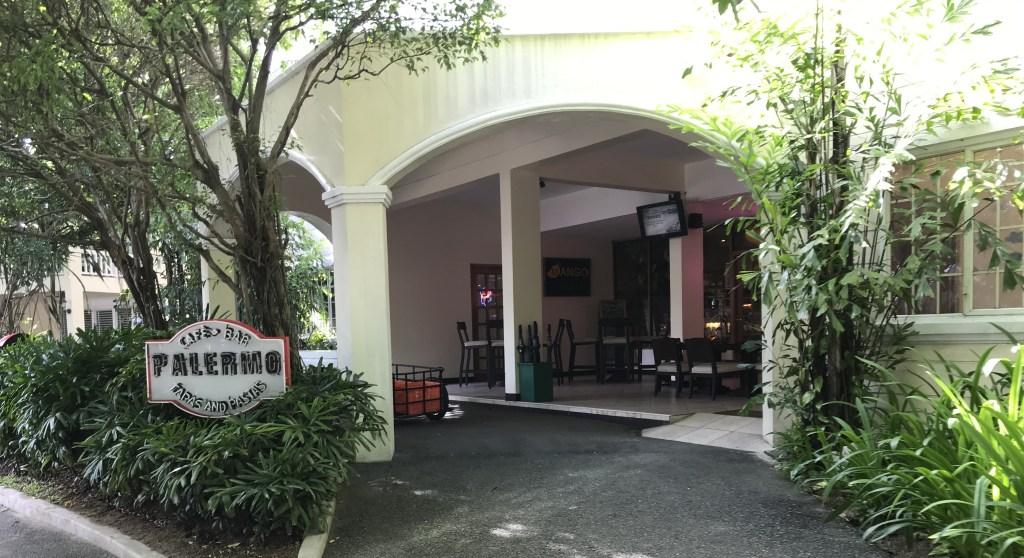 セブ島_プランテーションベイリゾート&スパ_パレルモレストラン外観