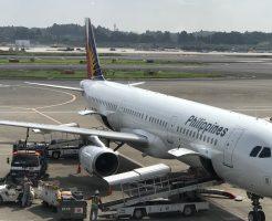 フィリピン航空でセブ島へ家族旅行_機体
