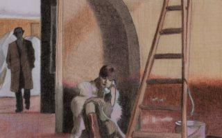 """Illustration of scene in """"Last Tango in Paris"""""""