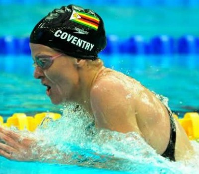 Kirsty Coventry of Zimbabwe
