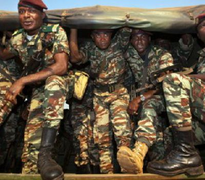 Cameroon military. VOANews