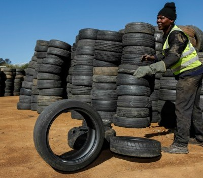 Circular Economy recycled tires south africa