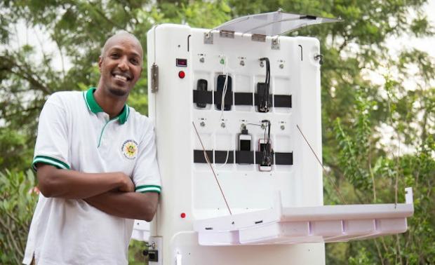 Solar-Powered Mobile Kiosks