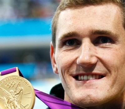 South African Medallists - South African swimmer Cameron van der Burgh