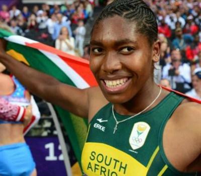 Team South Africa - Caster Semenya for South Africa