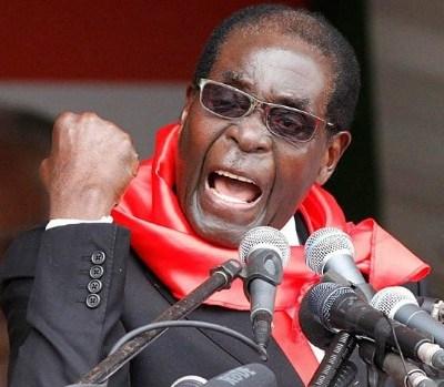 Mugabe headed for US