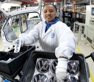 Kenyan Volkswagen auto assembly