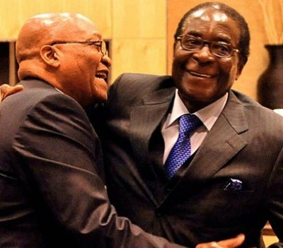 political change - South Africa has reached its Mugabe moment
