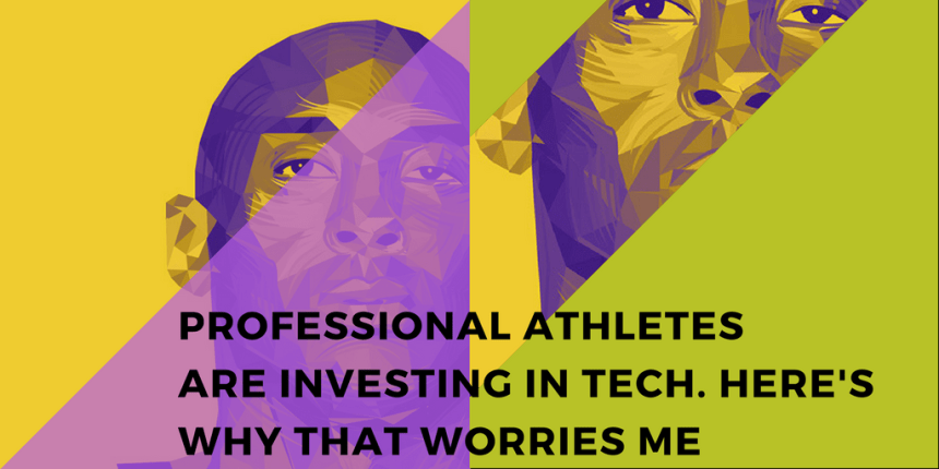 Black athletes investing in tech