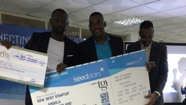 Tupuca won the Seedstars Luanda competition in Angola. Photo - DisruptAfrica