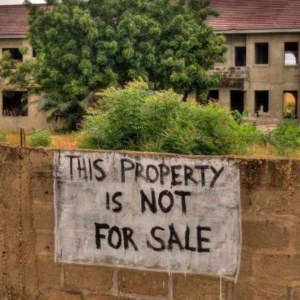 Blockchain technology is being used to clarify land ownership in Ghana. Photo - MassiveSmallCollective