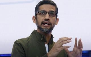 Google CEO Sundar Pichai appreciates Africa as an important market for the company. Photo - AP Photo -Jeff Chiu