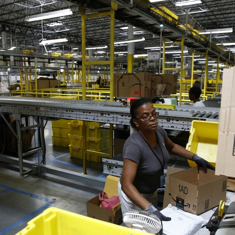 E-commerce companies in Africa need to realize the benefit of digital logistics services for their businesses. Photo - AP - Patrick Semansky