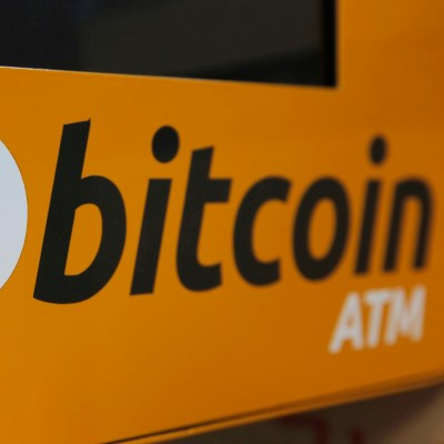 With cryptocurrency adoption on the rise Bitcoin and other crypto ATMs have been increasing too. Photo - AP - Kin Cheung