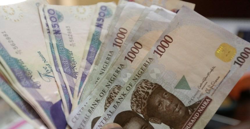 Nigerian naira currency at a bureau de change, in Lagos, Nigeria. Photo - AP - Sunday Alamba