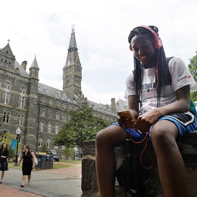 Georgetown reparations