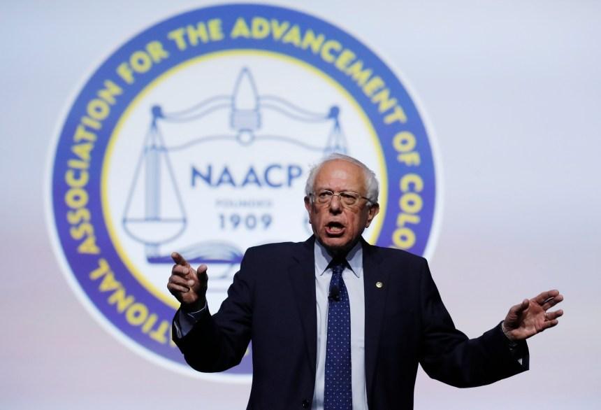 Bernie Sanders NAACP