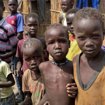 displaced children