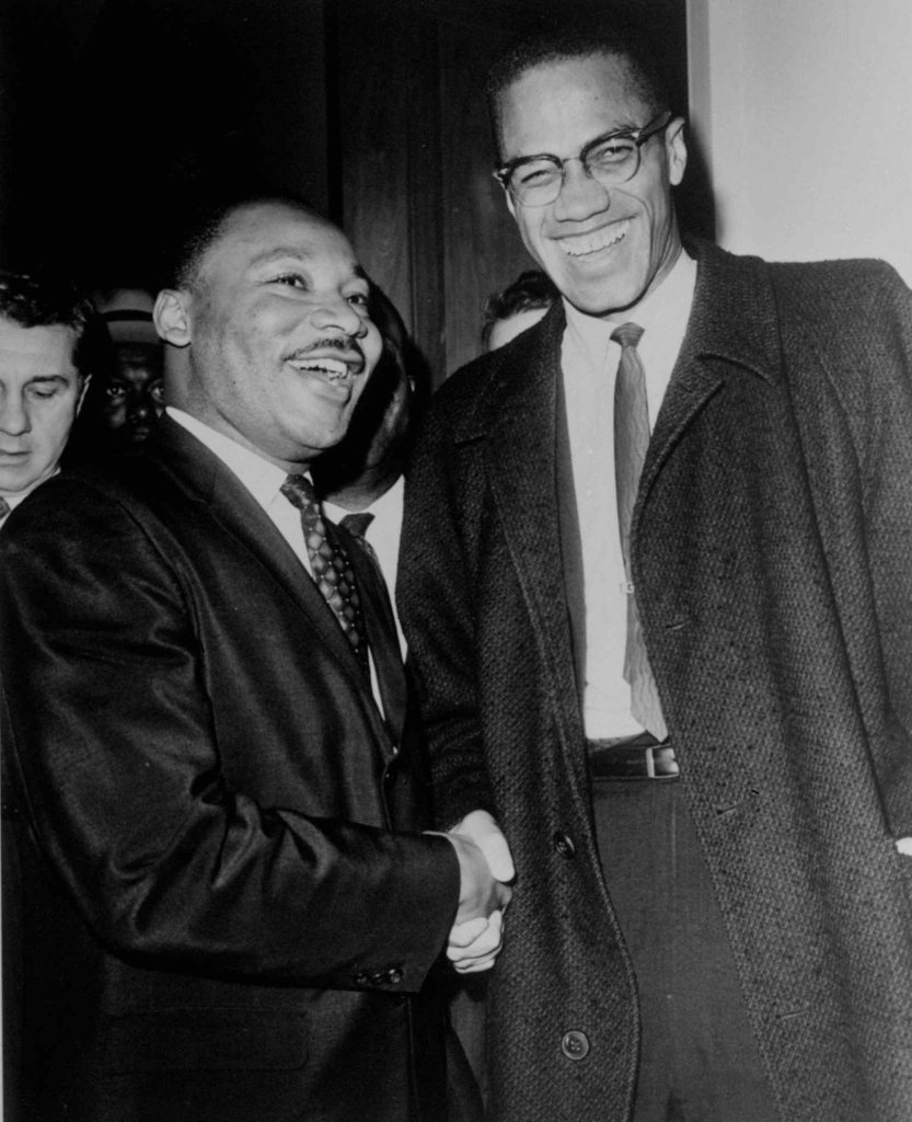 MLK and Malcolm X on White Liberals