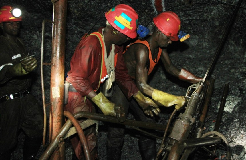 Gold mining South Africa