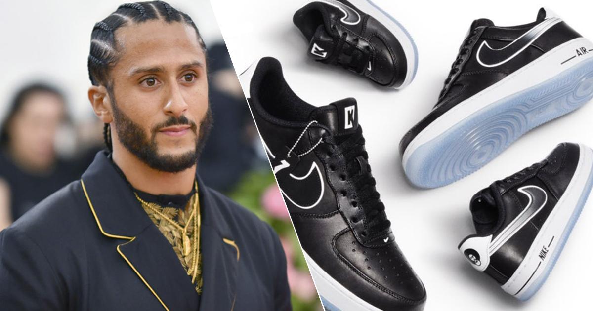 Colin Kaepernick: Latest Nike Air Force