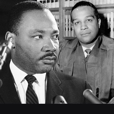 Dr. King and Dr. Pierce