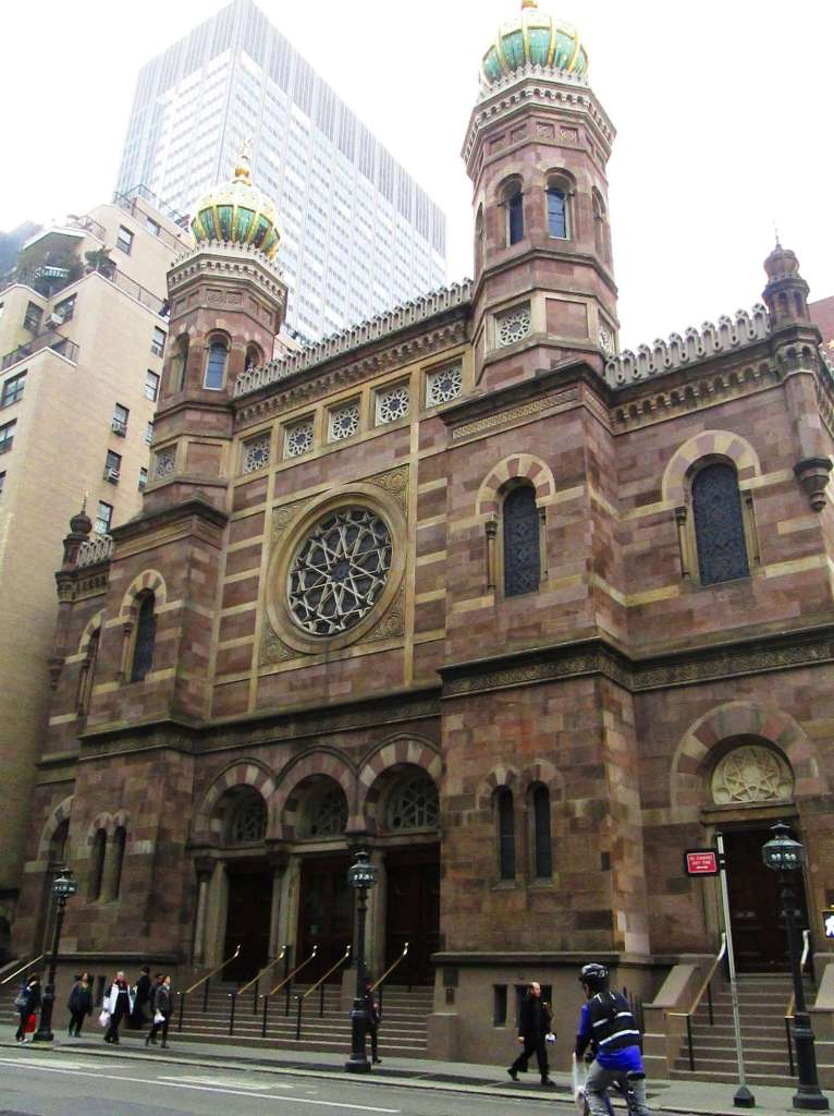 central synagogue ny moorish
