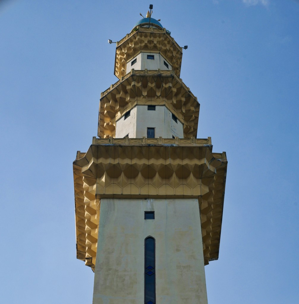 Masjid Wilayah minaret