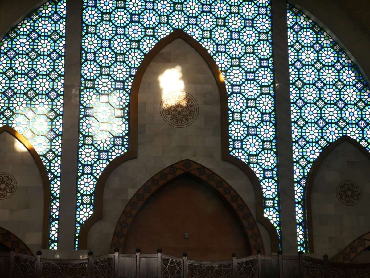 Masjid Wilayah stained glass mosque