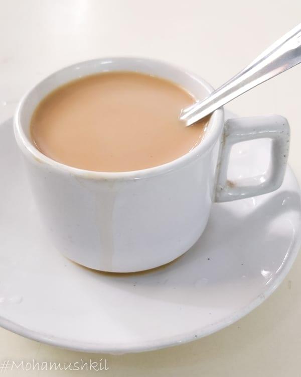 Pani kum chai at Sabir