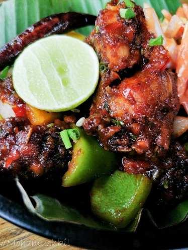 Tandoori chilly chicken