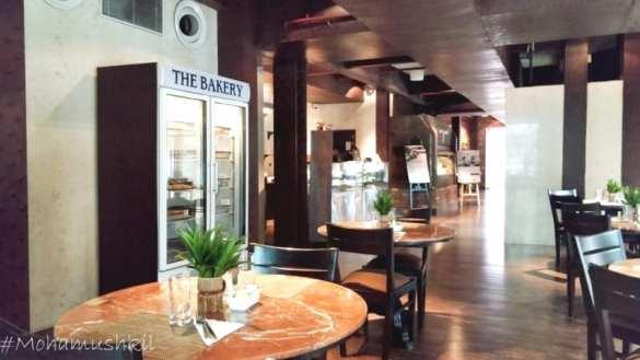 The bakery inside