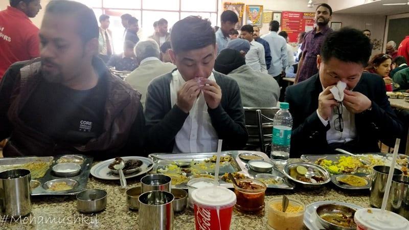 Andhra bhavan canteen