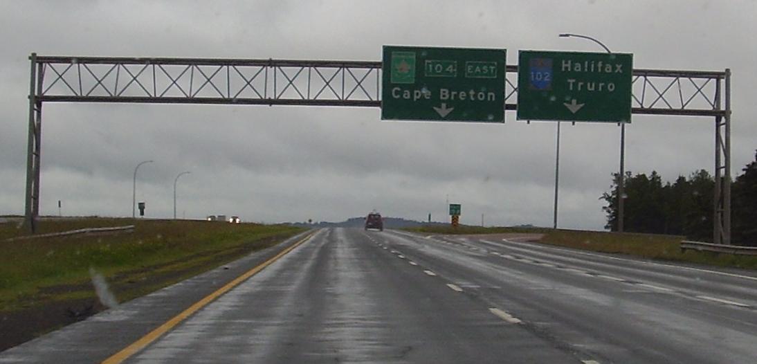 This way to Cape Breton