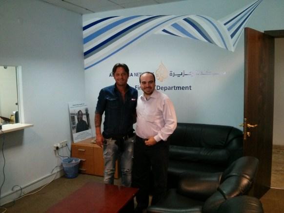 with Salvatore Schillaci