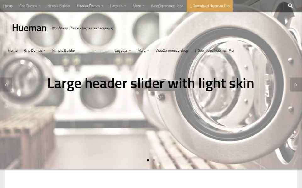 Hueman Theme Review Best WordPress Theme header