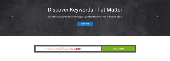 موقع discovry keyword