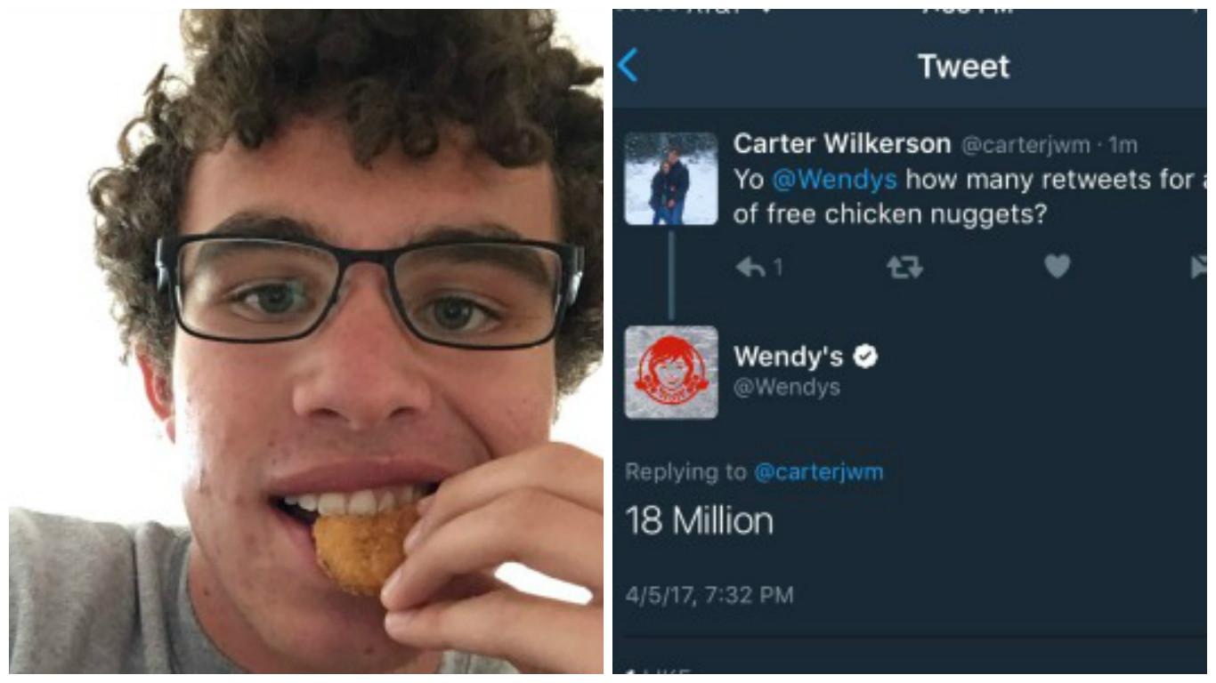كارتر ويلكرسون | من 150 فولوور | لأشهر شخصية في تويتر !