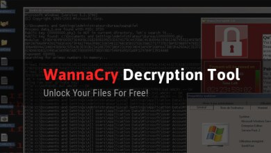 WannaCry Decrypting tool