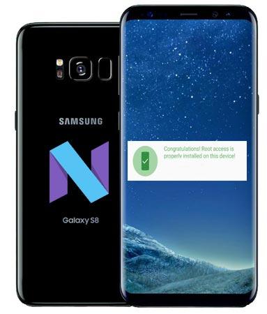 روت Samsung Galaxy S8