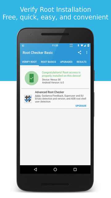 تطبيق Root Checker