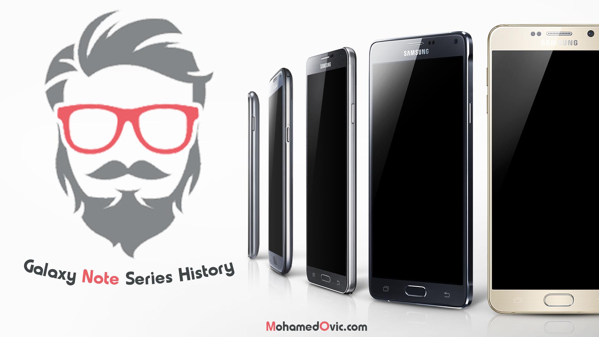 تاريخ سلسلة هواتف Samsung Galaxy Note