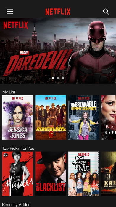 Netflix app 4